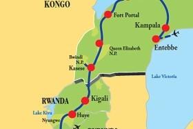 Uganda - Rwanda - Burundi