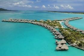 The St. Regis Bora Bora Resort, Bora Bora, Le Meridien, Tahiti