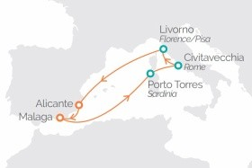 Středomořské Legendy Z Alicante Na Lodi Horizon **** Ai