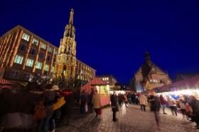 Vánoční trhy v Norimberku a koupání v Ambergu