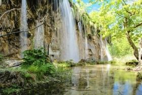 Národní parky Chorvatska a Jadran k tomu