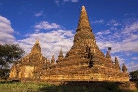 THAJSKO - KAMBODŽA - BARMA (MYANMAR)