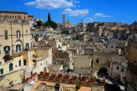 Krásy Apulie a Basilicaty - letecky