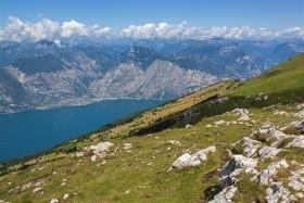Jezero Lago di Garda s trochou zábavy