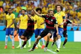 Utkání Německo - Brazílie