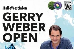 Gerry Weber Open 2017 V Halle - Čtvrtfinále Bus