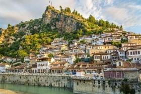 Albánsko a Macedónsko kombi, Rozafa, Kruje, Tirana, Ohrid, Bitola, Herakleja, Ohridské jazero, Berat, Gjirokastra, Vlora, Apollonia, Durres
