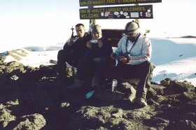 Mt. Kenya a výstup na Kilimandžáro turistika v Keni a Tanzánii