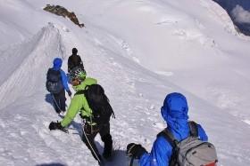 Francie, výstup na Mont Blanc 'zájezd expedice, trek' - prodloužení o Monte Rosa
