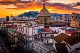 Neapol, Řím, Agrigento, Palermo, Catania