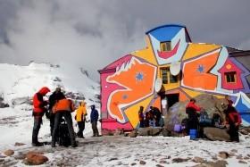 Gruzie Skialpinistický Výstup Na Kazbek A Skitouring VOblasti Kazbegi
