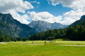 Slovinsko, cyklistický zájezd Na kole Triglavským národním parkem