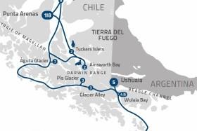 Plavba Charlese Darwina Z Punta Arenas Na Lodi Stella Australis