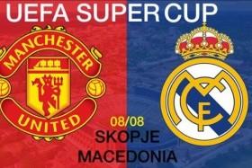 Evropský Superpohár: Real Madrid - Manchester United