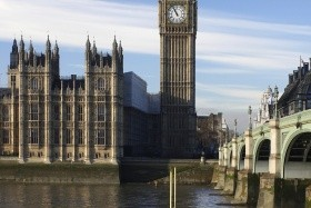 Londýn and předvánoční nákupy