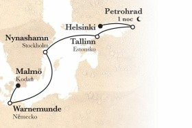 Metropole Baltu (Helsinky - Malmö) Na Lodi Zenith**** Ai