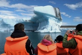 ISLAND - gejzír, ledovcová laguna a vodopády