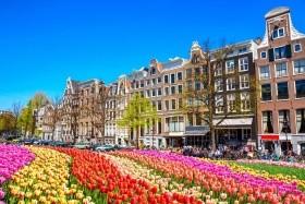 Amsterdam a Keukenhof na 4 dny (Hotel)
