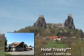 Troskovice - Hotel Trosky