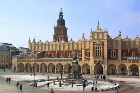 Predvianočný Krakow, Krakow, Vielička