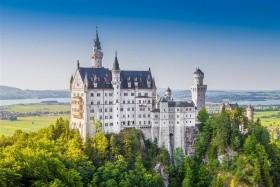 Bavorsko - zámky a hory, Linderhof, Hohenschwangau, Berchtesgaden, Neuschwanstein, Ettal, Garmish Partenkirchen, Konigstein, Herrenchiemsee, Fussen