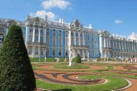 Petrohrad - klenot na Něvě letecky + Petrodvorce a Carskoje Selo