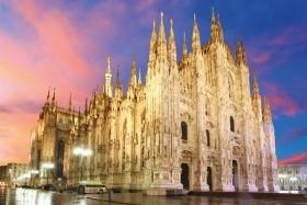 Módní Miláno - letecky