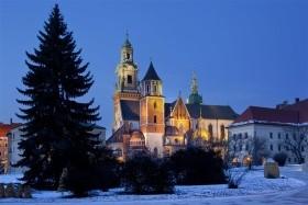 Predvianočný Krakow s Vieličkou