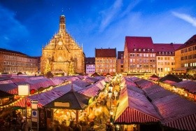 Vánoční návštěva Norimberku