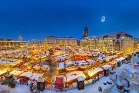 Adventní trhy a pravá vánoční pohoda v Drážďanech