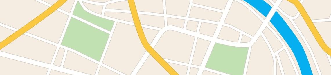 Mapa Tuniska
