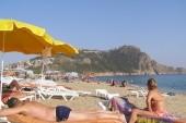 pohlad z plaze na pevnost