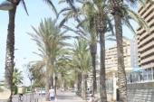promenáda na La playa Mallorca