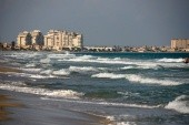 plaž u středozmního moře