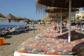 pláž pod hotelem Best Siroco