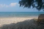Klidná pláž jen kousek od hlavní promenády