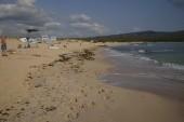 konec sezony v Primorsku - Severní pláž
