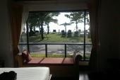 Výhled z villa na pláž