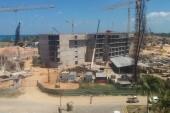 Výhled na staveniště