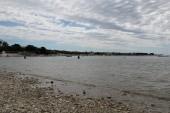 mini ostrůvek před pláží - hlubší voda