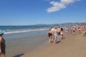 Pláž v Salou