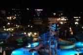 Detsky bazén večer