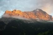 pohled z hotelu Jungfrau Lodge