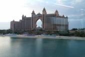 Výhled na Atlantis z monorailu