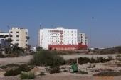 Hotel Omega-příchod od pláže.