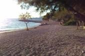 pláž, Nemira, lana