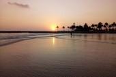 Západ slnka v Ománe