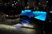 večer z balkónu