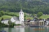 St. Wolfgang _pohled z jezera