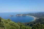 Pohľad na pláž_Ag.Georgios_Pagy